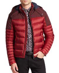 Burberry | Red Farrier Puffer Jacket for Men | Lyst