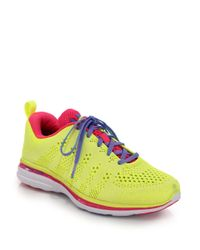 Athletic Propulsion Labs | Yellow Techloom Pro Mesh Trainers | Lyst