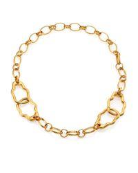Alexander McQueen | Metallic Skull Link Bracelet for Men | Lyst