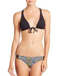 L*Space Black Knotty Bikini Top