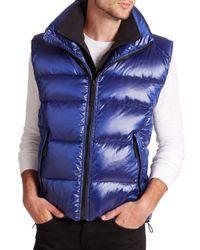 Sam. - Blue Racer Vest for Men - Lyst