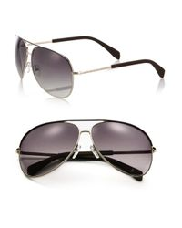 Marc By Marc Jacobs | Black Gradient 63mm Aviator Sunglasses | Lyst