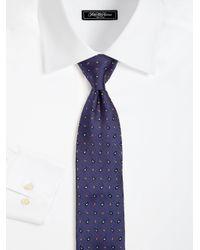 Eton of Sweden - Blue Textured Paisley Silk Tie for Men - Lyst
