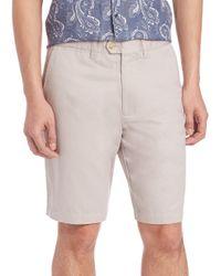 Saks Fifth Avenue | White Cotton & Linen Shorts for Men | Lyst