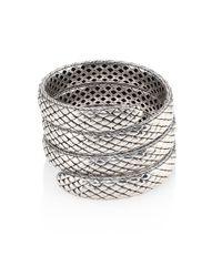 John Hardy | Metallic Legends Cobra Collection Multiple Coil Bracelet | Lyst