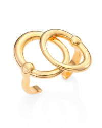 Maiyet | Metallic Orbit Double-circle Cuff Bracelet | Lyst