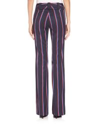 Altuzarra | Blue Serge Striped Pants | Lyst