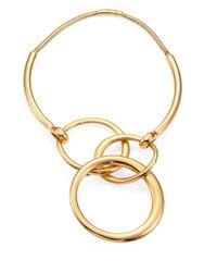 Maiyet | Metallic Orbit Statement Necklace | Lyst