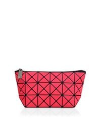 Bao Bao Issey Miyake - Pink Bao Bao Lucent Frost Zip Pouch - Lyst