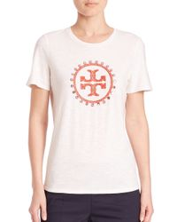 Tory Burch White Demi T-shirt