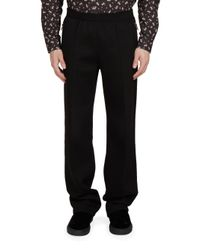 Givenchy | Black Technical Jersey Jogger Pants for Men | Lyst