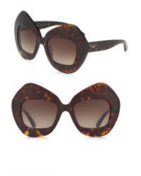 Dolce & Gabbana | Multicolor 51mm Pentagonal Sunglasses | Lyst