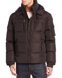 Sam. | Black Quilted Military Goose Down Jacket for Men | Lyst