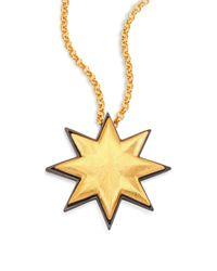 Stephanie Kantis | Metallic Emi Sunburst Pendant | Lyst