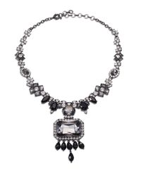 Marina Rinaldi | Metallic Liliana Pendant Necklace | Lyst