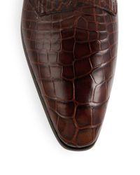 Mezlan - Brown 'agra' Double Monk Strap Shoe for Men - Lyst