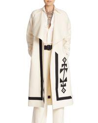 Ralph Lauren Collection | Natural Wool & Cashmere Sherman Coat | Lyst