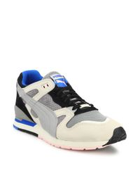 PUMA | Blue Leather & Suede Shoes for Men | Lyst