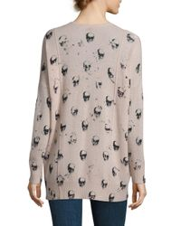 360cashmere Multicolor Hollis Cashmere Skull-print Sweater