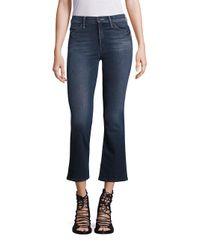 Mother | Blue Looker High-waist Skinny Jeans | Lyst