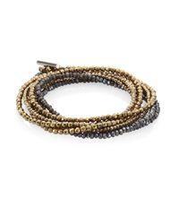 Brunello Cucinelli | Multicolor Wrap Bracelet | Lyst