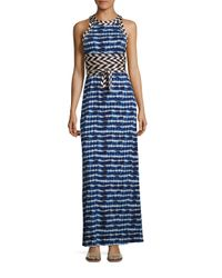 Tory Burch | Blue Sleeveless Pelton Dress | Lyst