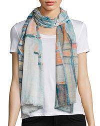 Tilo | Blue Monmarte Cotton & Modal Scarf | Lyst