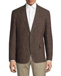 Billy Reid | Brown Lexington Linen Blazer for Men | Lyst