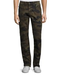 True Religion | Multicolor Ricky Straight-fit Camo Jeans for Men | Lyst