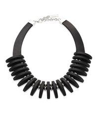 Lafayette 148 New York | Black Luna Collar Necklace | Lyst