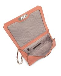 Rebecca Minkoff - Multicolor Diamond Quilted Love Nubuck Leather Crossbody Bag - Lyst