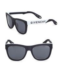 Givenchy - Black 52mm Tinted Aviator Frame for Men - Lyst