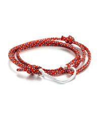 Miansai | Red Hook Rope Wrap Bracelet | Lyst