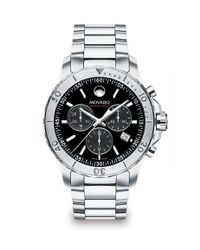 Movado | Metallic Series 800 Chronograph Watch for Men | Lyst
