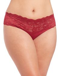 Cosabella | Red Never Say Never Lovelie Ultra-stretch Thong | Lyst