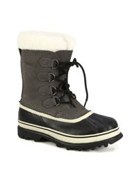 Sorel | Gray Caribou Waterproof Boot for Men | Lyst