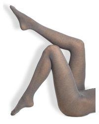 Fogal - Gray Aida Sensuelle Tights - Lyst