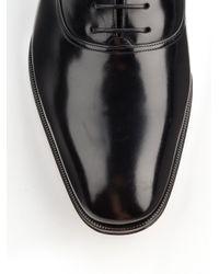 Ferragamo | Black Fedele Oxfords for Men | Lyst