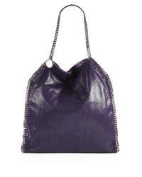 Stella McCartney | Purple Falabella Shoulder Bag | Lyst