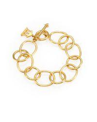 Temple St. Clair   Metallic 18k Yellow Gold Arno Chain Link Bracelet   Lyst