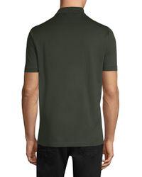 Ferragamo Green Gancini Logo Polo for men