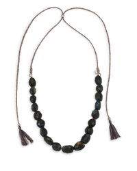 Chan Luu - Blue Labradorite Adjustable Necklace - Lyst