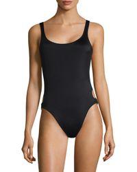 Solid & Striped - Black Jennifer One-piece Swimsuit - Lyst