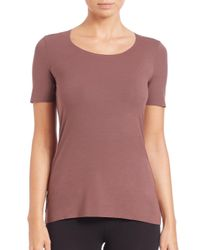 Wolford - Purple Pure Tee - Lyst