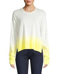 ATM Yellow Dip-dyed Sweater