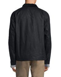 Barbour Blue Heskin Cotton Jacket for men