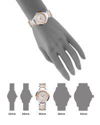 Baume & Mercier - Metallic Promesse 10159 Two-tone Bracelet Watch - Lyst