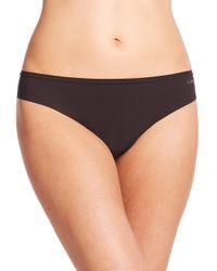 La Perla - Black Invisible Bikini Brief - Lyst