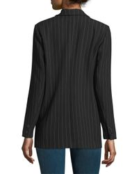 Ganni - Black Brighton Tailored Blazer - Lyst