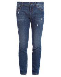 Dolce & Gabbana Blue Slim-fit Jeans for men